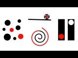 Baby Sensory  Black White Red - Circles (classical music) make newborn stop crying