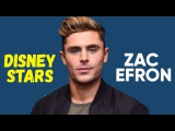 Disney Stars Zac Efron before and after