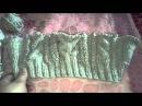 Детский свитер спицами. Отзыв на серую пряжу ализе лана голд классик Alize Lana Gold Classic