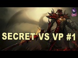 Team Secret vs Virtus.Pro HighLights Game 1 | EPICENTER Group B Dota 2