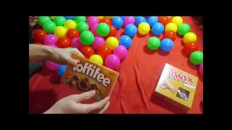 New! I want to show you how much I bought sweets in the store! The video is entirely in Russian.