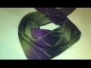 Вяжем платок бактус ✔Подробный Мастер класс 2 ЧАСТЬ
