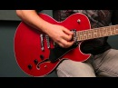 Dean Guitars Product Demo! Dean Colt Semi-Hollow body Electric Guitar w/ Piezo