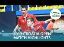 2017 Croatia Open Highlights: Tomas Konecny/Tomas Polansky vs Viktor Brodd/Hampus N. (Final)