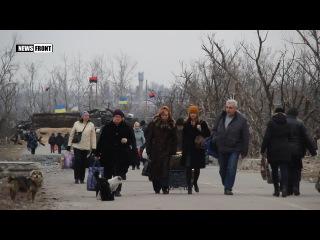 Находящиеся в ЛНР бойцы ВСУ при содействии властей Республики встретились с род...