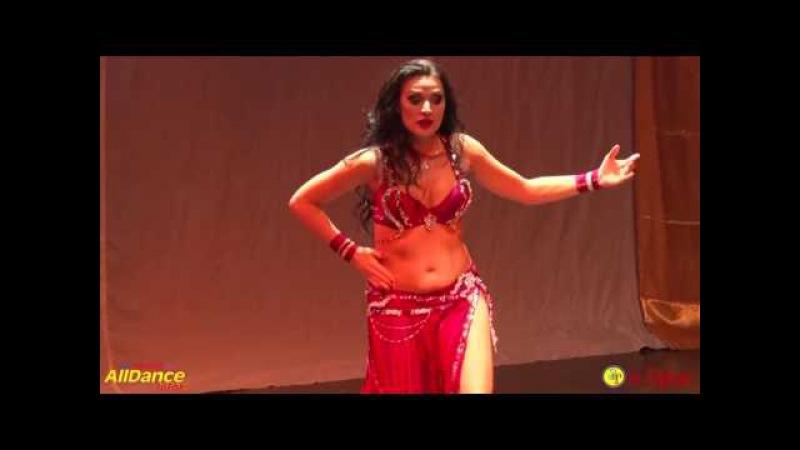 Aida Bogomolova, Amaren Fest, Egyptian Folkore [vk.com/bellydancetv_tanec_jivota]