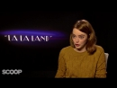 Emma Stone saw La La Land six times, but never saw  Flashdance or Footloose!