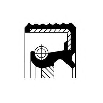 Уплотняющее кольцо, распределительный вал; Уплотняющее кольцо, промежуточный вал для AUDI R8 Spyder