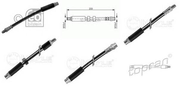 Тормозной шланг для AUDI V8 (44_, 4C_)