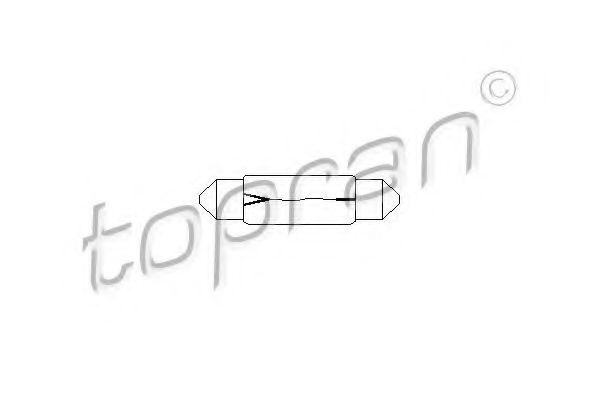 Лампа накаливания, фонарь освещения багажника; Лампа накаливания, подкапотная лампа для AUDI V8 (44_, 4C_)