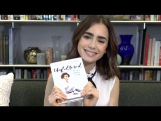 Лили рассказывает о своей новой книге «Без фильтров: Ни стыда, ни сожалений, только я»