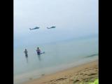 Феодосия, золотой пляж, 26 авг символично... над безлюдным пляжем