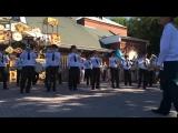 Неожиданный репертуар военного оркестра (6 sec)