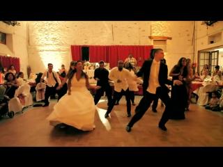 Свадебный танец сюрприз. Танец с друзьями жениха и невесты