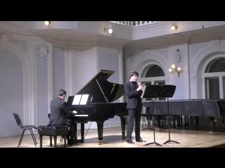 Лютославский «Эпитафия» для гобоя и фортепиано исп. Д. Булгаков , А Кобрин
