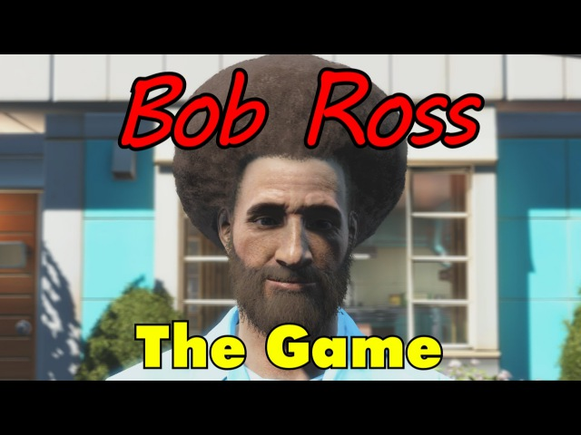 The Bob Ross Video Game – The Joy of Painting in Fallout 4