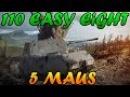 Men of War Assualt Squad 2 - 5 MAUS vs 110 Sherman Easy Eight - Editor Scenario 28