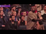 Kanye West Dancing in Front of twenty one pilots and Halsey