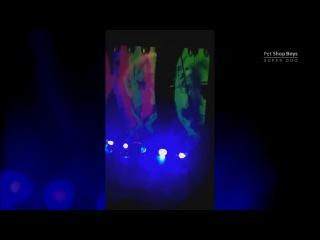 Pet Shop Boys SuperTour in Glasgow (opening show, Opprtunities, Inside a dream)