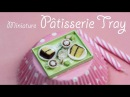 Miniature Food Pastry Tray Polymer Clay Tutorial in Time Lapse