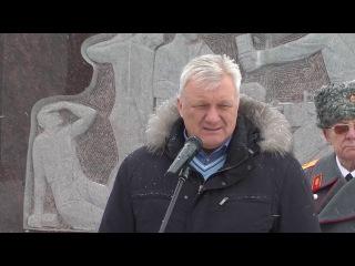 День освобождения села Обуховка от немецко - фашистких захватчиков. Старый Оскол