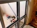 Ремонт кухни Гипсокартонная перегородка и установка раздвижных дверей