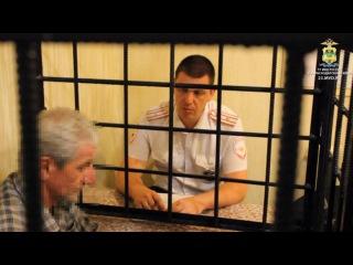 В Туапсе полицейские по горячим следам задержали подозреваемого в грабеже