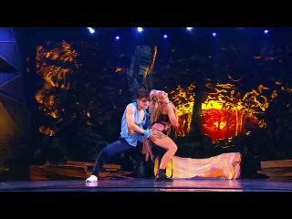 Танцы: Даян и Даша Ролик (MONATIK - Кружит) (сезон 3, серия 18)