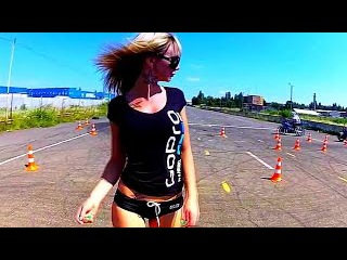 Beautiful Girls on Motorcycle (Electro House Music 2016)