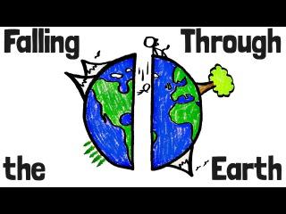 Как долго вы бы падали сквозь Землю? rfr ljkuj ds ,s gflfkb crdjpm ptvk.?