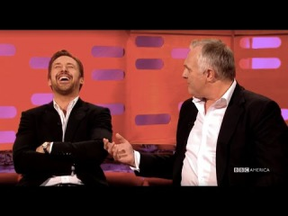 Watch Ryan Gosling Lose It Over Greg Davies' Drunk Tale - The Graham Norton Show