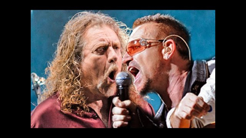 U2 Robert Plant - Trampled under foot live (Led Zeppelin cover) London 2016 HD Multicam fan mix