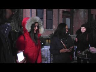 Нина на съемочной площадке фильма «Три икса: Возвращение Ксандера Кейджа» в Торонто 5 апреля 2016 года.