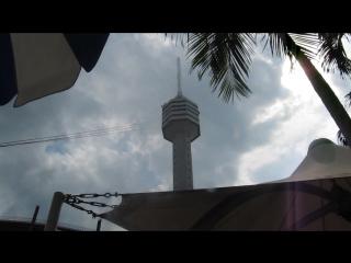 Спуск с 240метров с башни отеля Паттайя парк