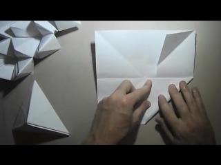 Как сделать объемную правильную треугольную пирамиду из бумаги формата А4