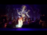 Russian singer singing Indian song