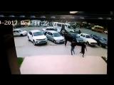 Видео с страшной аварии в Махачкале на ул Калинина