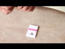 Трюк с надписями на карточках, секрет