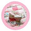 """Буквы-подушки и лоскутные одеяла """"Soft_joy"""""""
