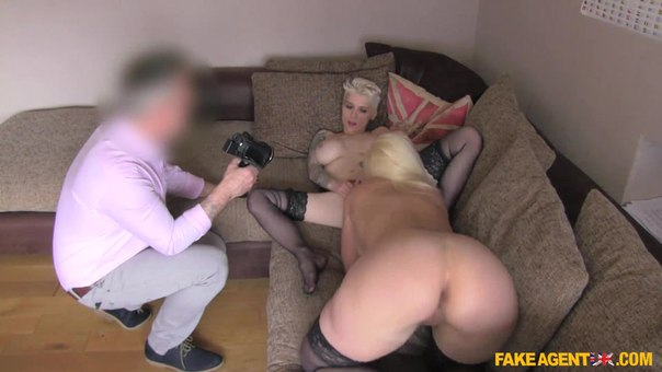 FakeAgentUK E222 Debby Pleasure And Mila