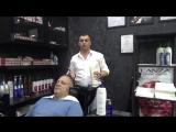 Территория красоты Сергея Дорошенко-процедура нормализующая баланс РН кожи головы.