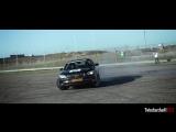 BMW 760LI - Drifting and burning his tires!