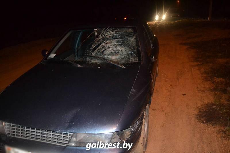 ВБрестском районе граждане деревни словили водителя после ДТП
