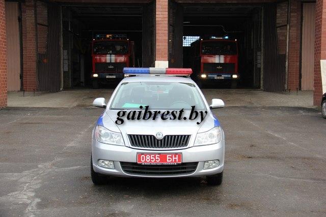 ГАИ и МЧС провели тренировочный прогон автомобиля специального назначения