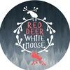 RED DEER WHITE MOOSE