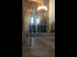 Суздаль. Спасо-Евфимиев мужской монастырь. Камерный хор