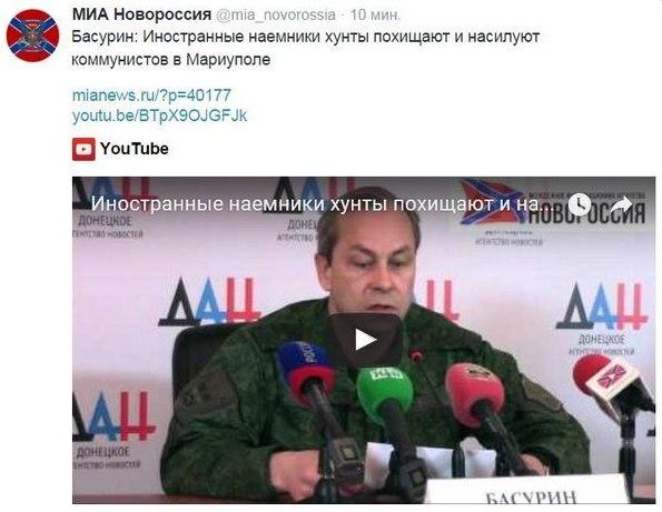 В оккупированной Макеевке толпа людей не дала вооруженным боевикам похитить девушку, - СМИ - Цензор.НЕТ 2722