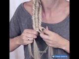 Коса в виде спирали