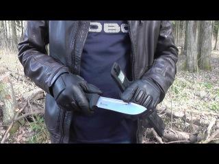 Запредельный тест ножа Доминус от Кизляр Суприм. Сталь PGK. Часть 1.