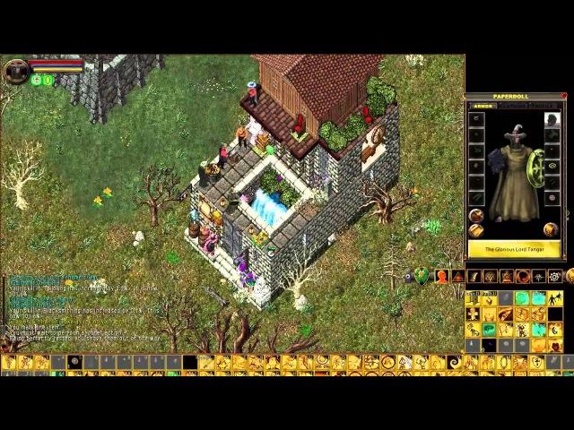 Ultima Online 12 — возвращение: осмотр дома и магазина, разведка — UO letsplay (crafter. mage)